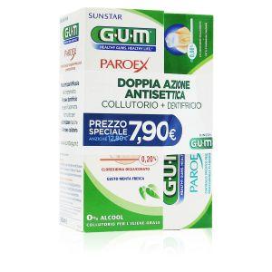 Gum Paroex Duo Collutorio 0,20% CHX e Dentifricio 0,06%