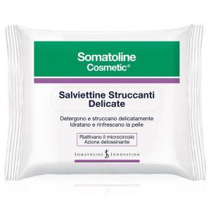 Somatoline Cosmetic Salviettine Struccanti Delicate 20 Pezzi