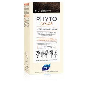 Phytocolor Colorazione Permanente 5.7 Castano Chiaro Tabacco