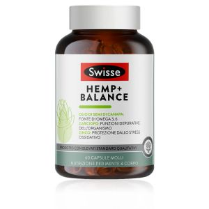 Swisse Hemp + Balance Capsule