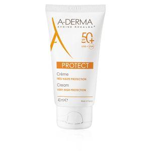 A-Derma Protect Crema Viso SPF 50+