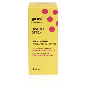 Goovi Give Me Detox Linfa Donna