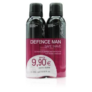Bionike Defence Man Duo Schiuma da Barba Anti-Irritazioni