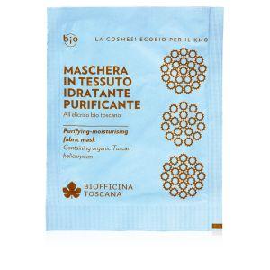 Biofficina Toscana Maschera in Tessuto Idratante Purificante