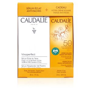 Caudalie Vinoperfect Duo Siero + Crema Solare Spf50
