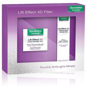 Somatoline Cosmetics Cofanetto Lift Effect 4D Filler Routine Antirughe