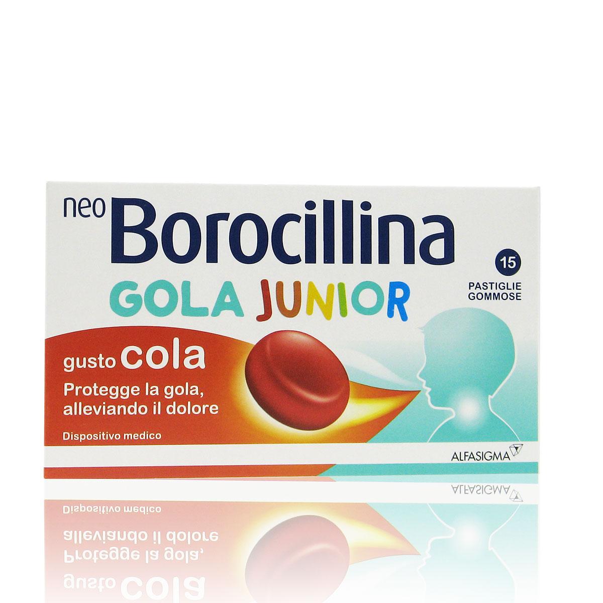 Neo Borocillina Gola Junior Gusto Cola